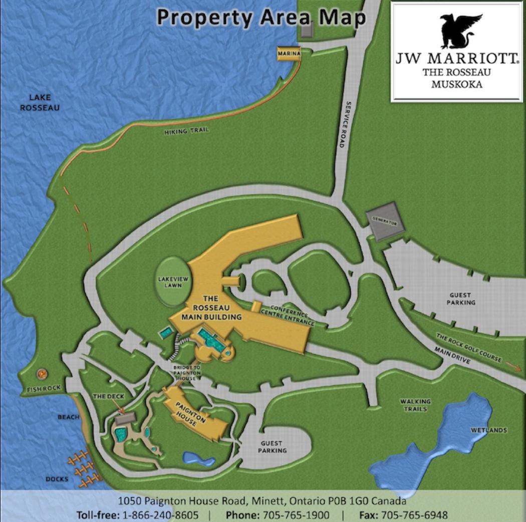 Rosseau Property Area Map